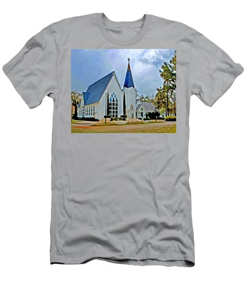 Point Clear Alabama St. Francis Church Men's T-Shirt (Athletic Fit)