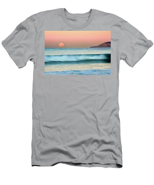 Point Loma Moonset Men's T-Shirt (Athletic Fit)