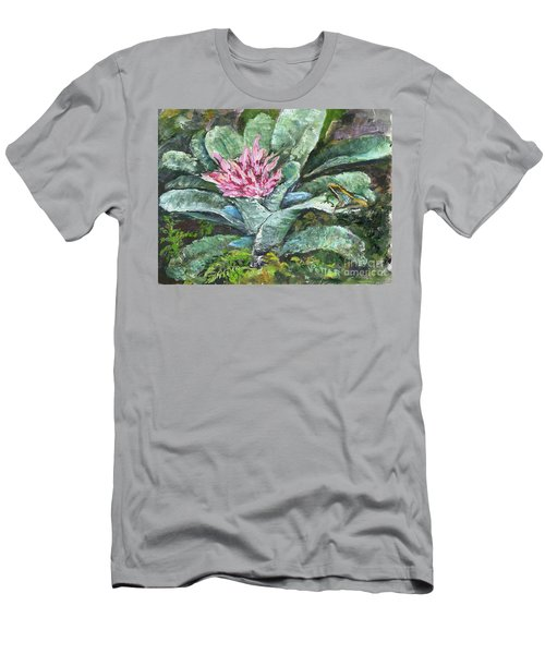 Poison Dart Frog On Bromeliad Men's T-Shirt (Athletic Fit)