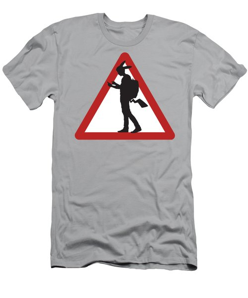Pokeman Road Signage 1 Men's T-Shirt (Athletic Fit)