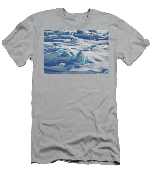 Men's T-Shirt (Athletic Fit) featuring the photograph Polar Bliss II by Doug Gibbons