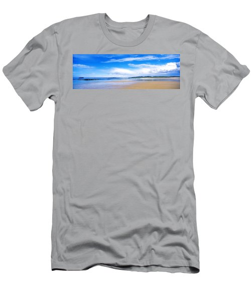 Pollan Strand, Inishowen, County Men's T-Shirt (Athletic Fit)