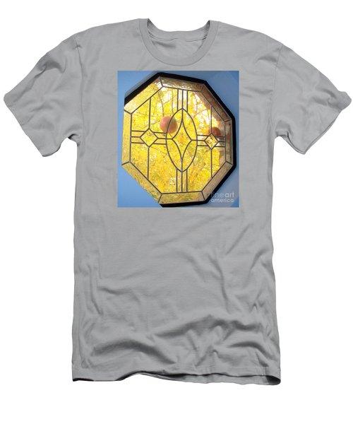 Pomegranate Peek A Boo Men's T-Shirt (Athletic Fit)