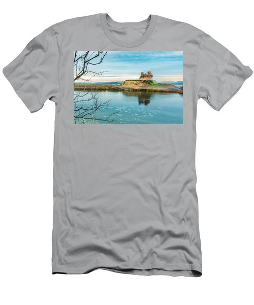 Pond And Geyser Men's T-Shirt (Athletic Fit)