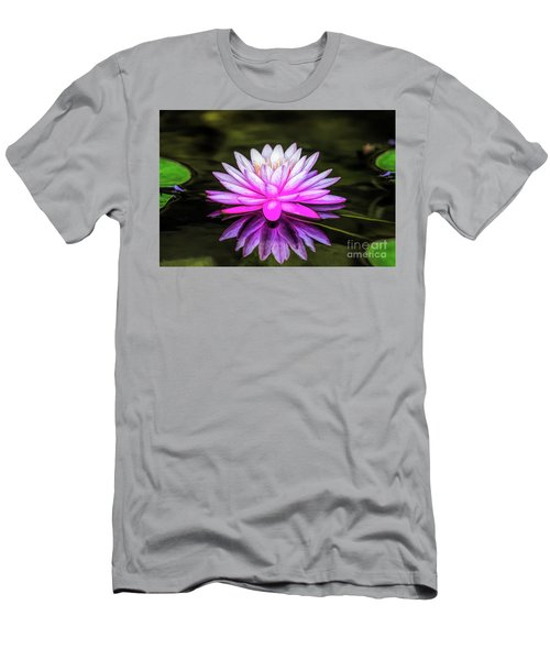 Pond Water Lily Men's T-Shirt (Athletic Fit)
