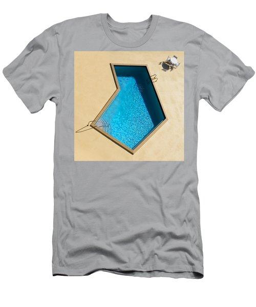 Pool Modern Men's T-Shirt (Athletic Fit)