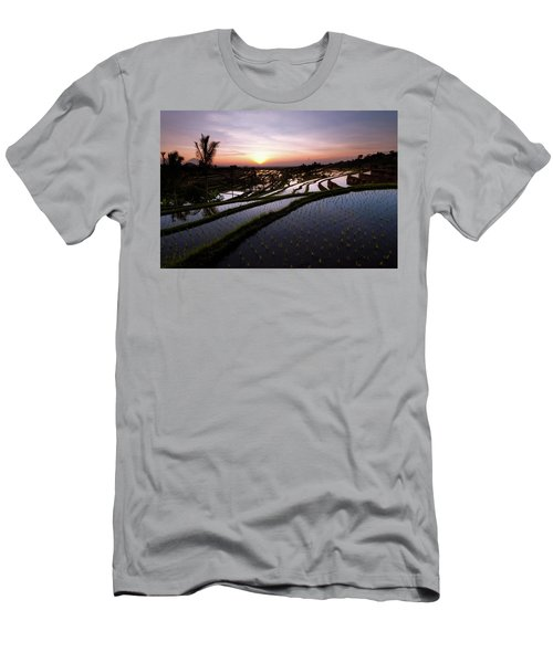 Pools Of Rice Men's T-Shirt (Athletic Fit)