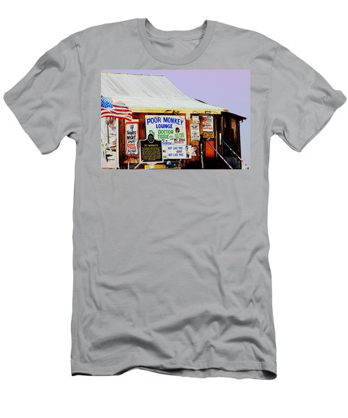 Poor Monkey's Juke Joint Men's T-Shirt (Athletic Fit)