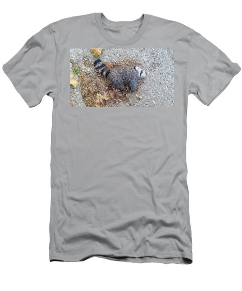 Poor Trash Panda Men's T-Shirt (Athletic Fit)