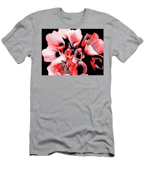 Poppies Bouquet Men's T-Shirt (Athletic Fit)