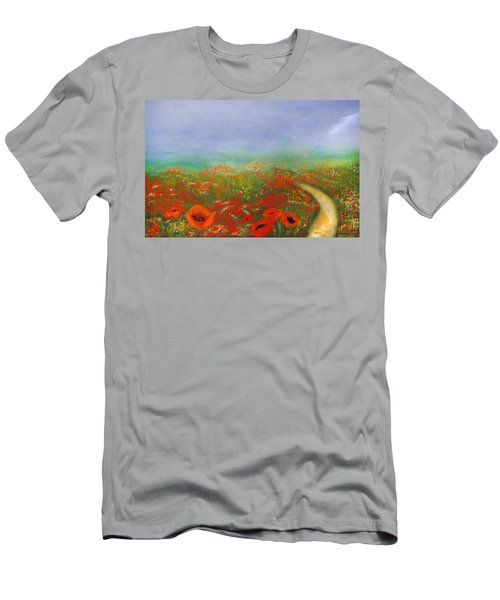 Poppy Field Impressions Men's T-Shirt (Athletic Fit)