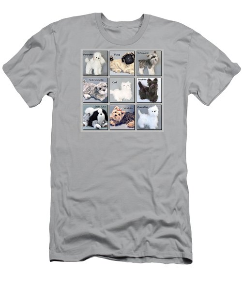 Popular Pooches Men's T-Shirt (Slim Fit) by David and Lynn Keller