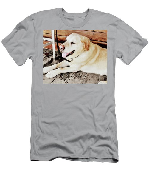 Porch Pooch Men's T-Shirt (Athletic Fit)