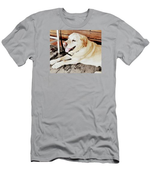 Porch Pooch Men's T-Shirt (Slim Fit)