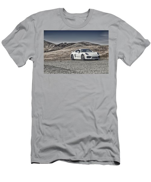 Porsche Cayman Gt4 In The Wild Men's T-Shirt (Athletic Fit)
