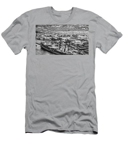 Port Everglades 1 Men's T-Shirt (Athletic Fit)