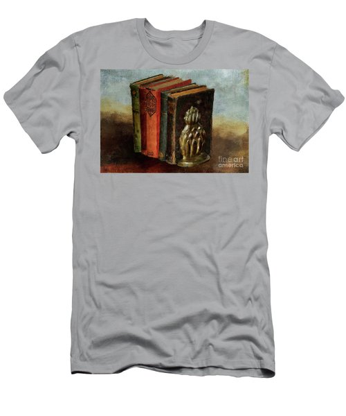 Men's T-Shirt (Slim Fit) featuring the digital art Portable Magic by Lois Bryan