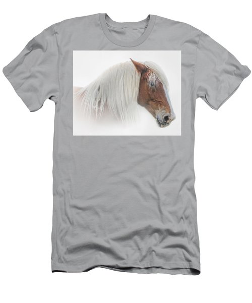 Portrait Of A Belgian Horse Men's T-Shirt (Athletic Fit)