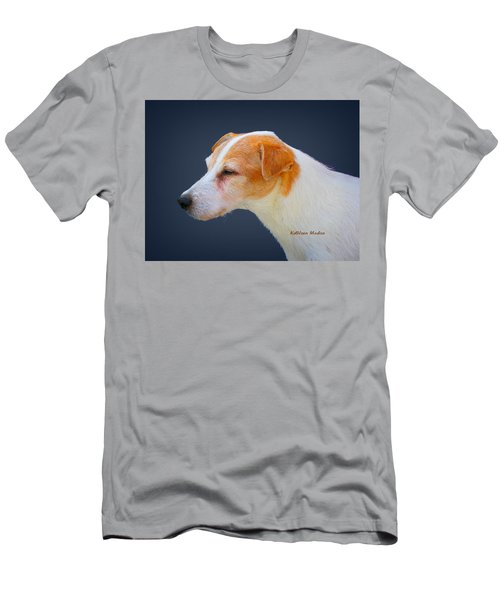 Portrait Of A Jack Russel Men's T-Shirt (Athletic Fit)
