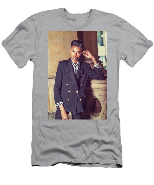 Portrait Of School Boy 1504262 Men's T-Shirt (Athletic Fit)