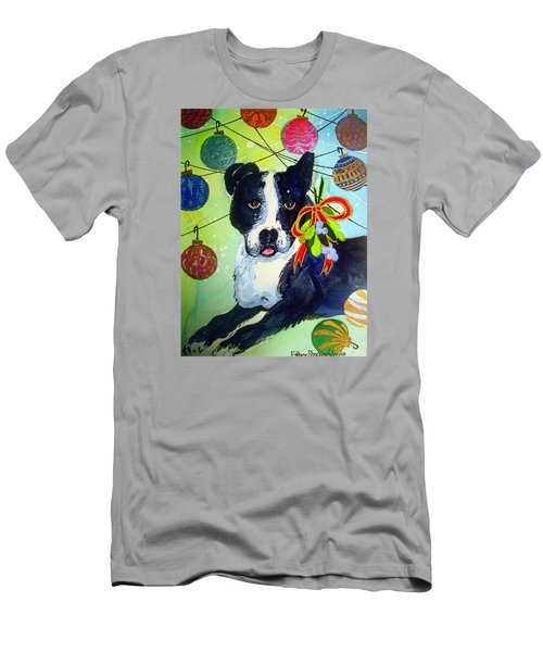 Posey At Christmas 2015 Men's T-Shirt (Athletic Fit)