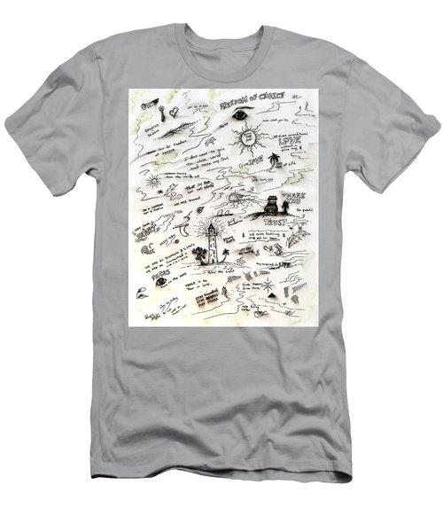 Positive Reminders Men's T-Shirt (Athletic Fit)