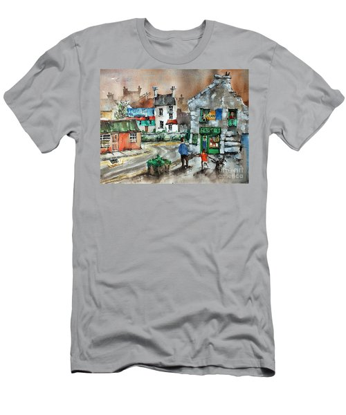 Post Office Mural In Ennistymon Clare Men's T-Shirt (Athletic Fit)