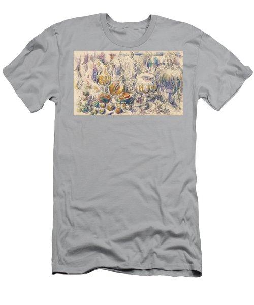 Pot And Soup Tureen  Men's T-Shirt (Athletic Fit)