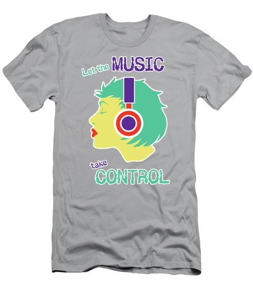 Power Of Music Men's T-Shirt (Athletic Fit)