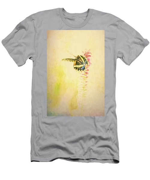 Prairie Butterfly 3 Men's T-Shirt (Athletic Fit)