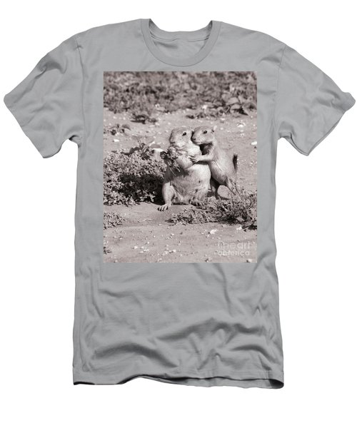 Prairie Love Men's T-Shirt (Slim Fit) by Alycia Christine