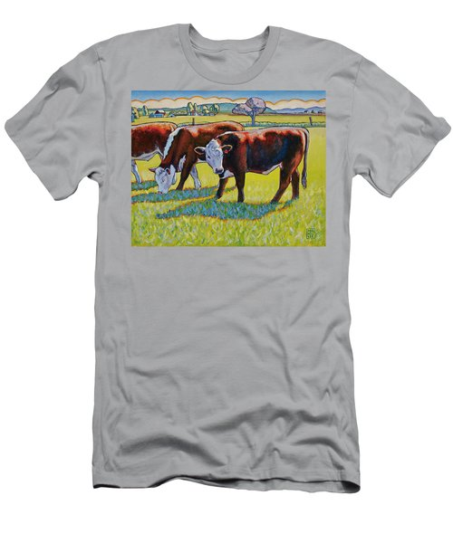 Prairie Lunch Men's T-Shirt (Athletic Fit)