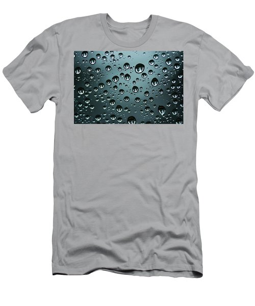 Precipitation Men's T-Shirt (Athletic Fit)