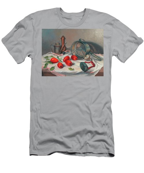 Preparing The Sauce Men's T-Shirt (Athletic Fit)