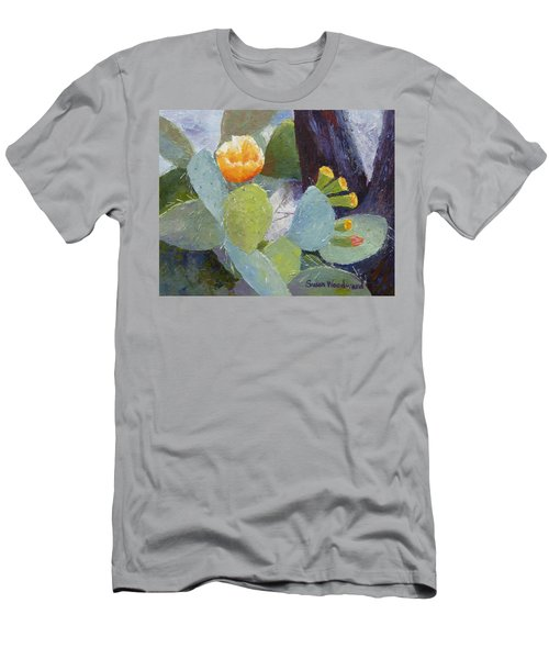 Prickly Pear In Bloom Men's T-Shirt (Athletic Fit)