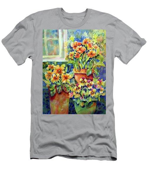 Primroses And Pansies II Men's T-Shirt (Athletic Fit)