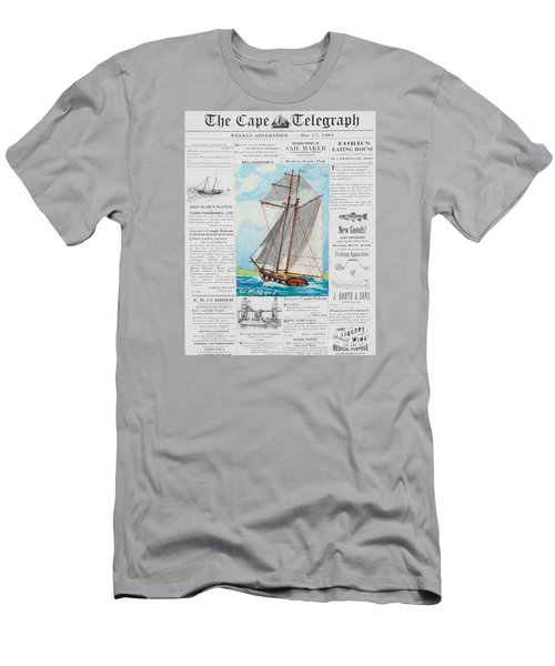 Privateer Off Charleston, Sc Men's T-Shirt (Slim Fit) by Bill Hubbard