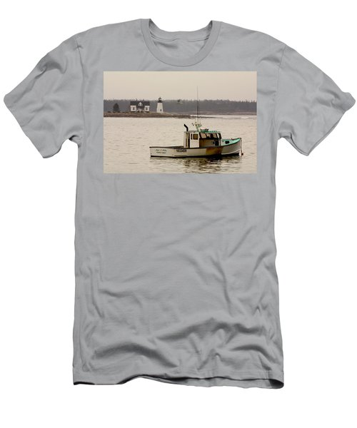 Prospect Harbor Lighthouse Men's T-Shirt (Athletic Fit)