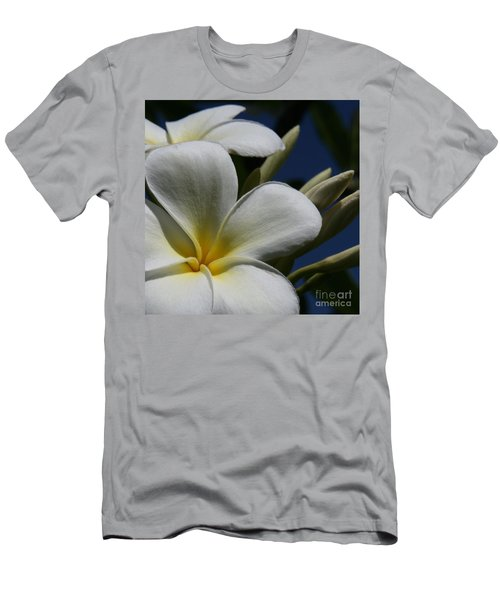 Pua Lena Pua Lei Aloha Tropical Plumeria Maui Hawaii Men's T-Shirt (Athletic Fit)