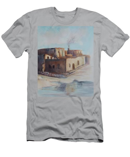 Pueblo After The Rain Men's T-Shirt (Athletic Fit)