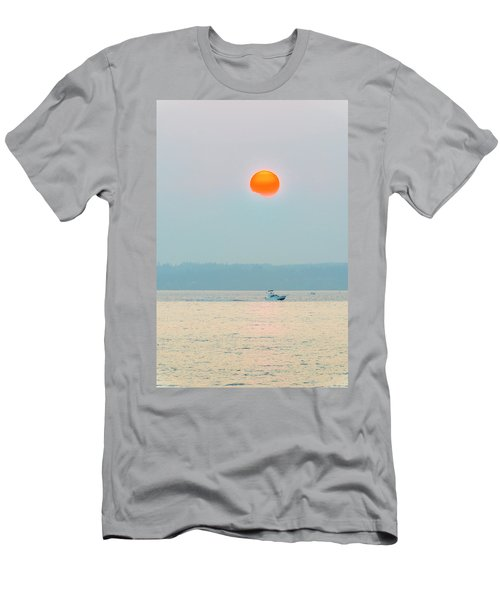 Puget Sound Under The Heavy Smoke Men's T-Shirt (Athletic Fit)