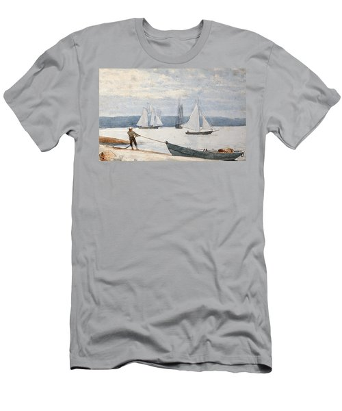Pulling The Dory Men's T-Shirt (Athletic Fit)