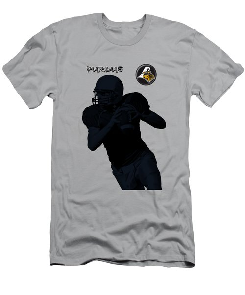 Purdue Football Men's T-Shirt (Athletic Fit)