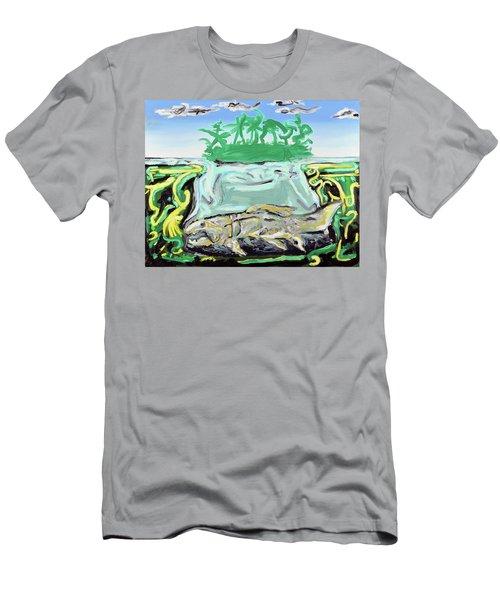 Purgatorium Praedator Men's T-Shirt (Slim Fit) by Ryan Demaree