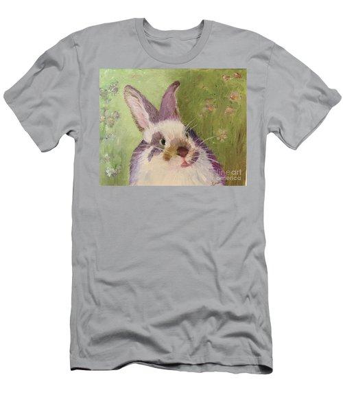 Purple Hare Men's T-Shirt (Athletic Fit)