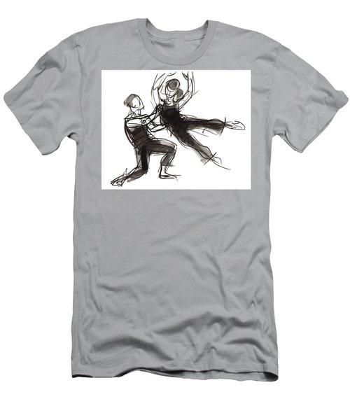 Puzzle Pieces Three Men's T-Shirt (Athletic Fit)