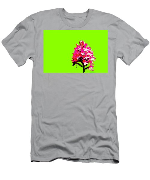 Green Pyramid Orchid Men's T-Shirt (Athletic Fit)