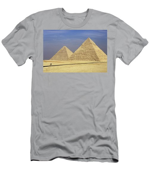 Pyramids At Giza Men's T-Shirt (Athletic Fit)