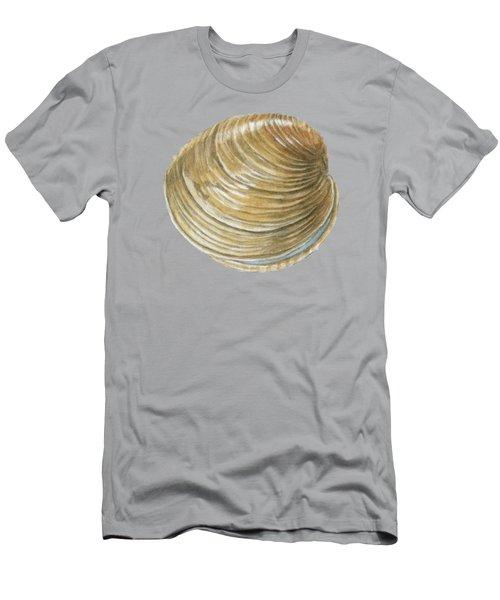 Quahog Shell Men's T-Shirt (Athletic Fit)