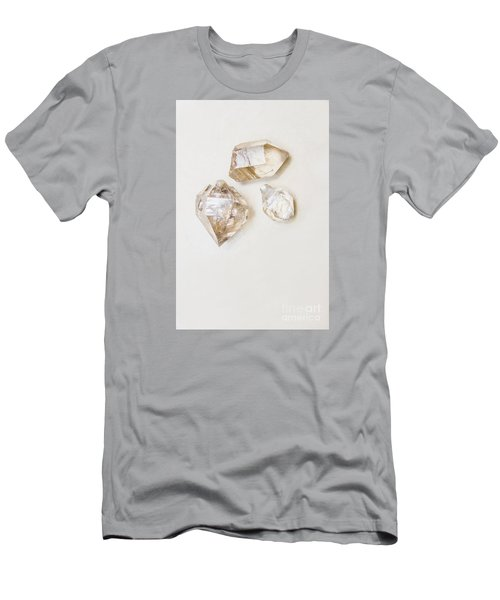 Men's T-Shirt (Athletic Fit) featuring the photograph Quartz Crystals by Jorgo Photography - Wall Art Gallery